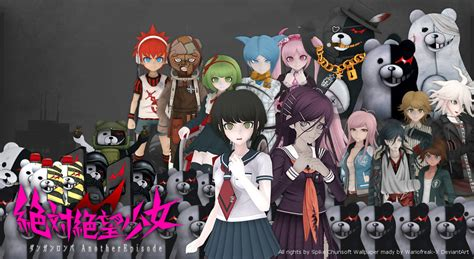 Danganronpa The Animation Wallpaper - danganronpafanzunite deviantart