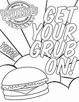 Coloring Books Grill Ice Willie sketch template