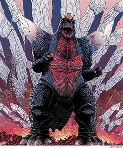 Godzilla by James Stokoe | * Mecha | Monsters | Pinterest