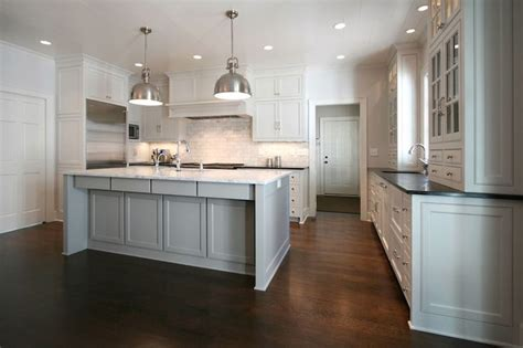 kitchens with hardwood floors and white cabinets walker woodworking kitchens hardwood floors dark 770 | 46a6d1fa9d0f8dc7d739b67126f2d462 white kitchen cabinets kitchen cabinetry