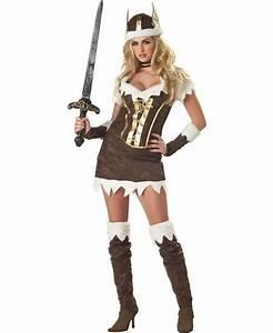 Deguisement barbare femme : Costume viking