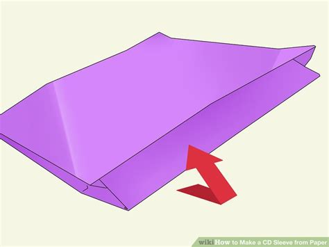 How To Make A Cd Sleeve From Paper