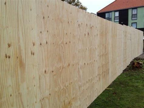 timber site hoarding fencing modern fence backyard fences fence landscaping