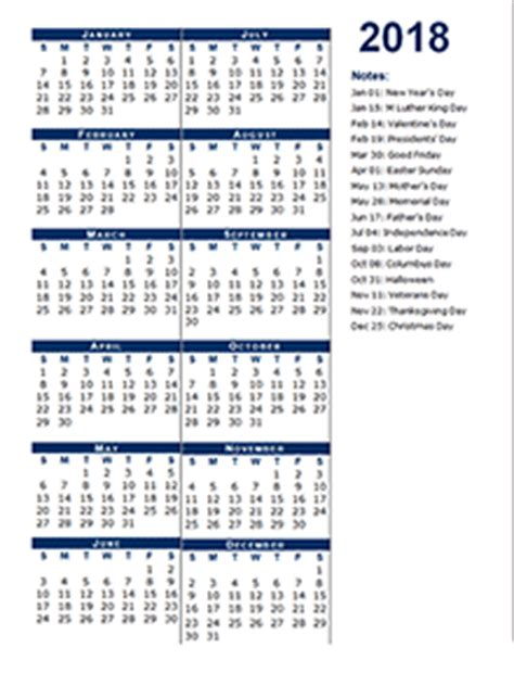 2018 calendar template calendarlabs free 2018 yearly calendar printable yearly calendar templates