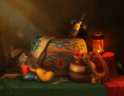 Zelda Still Life By Photia On Deviantart