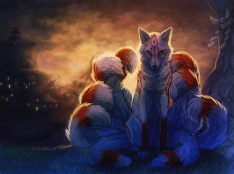 Animated Fox Wallpaper - nine tailed fox wallpaper gallery