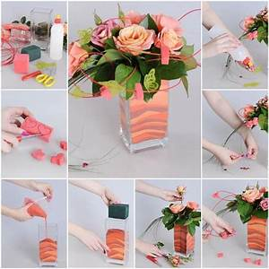 DIY Mini House with Matches Vase decorations, Handmade