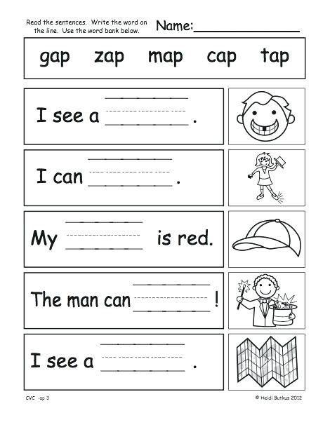 worksheet  jr kg