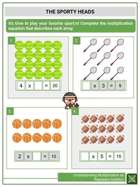understanding multiplication  repeated addition