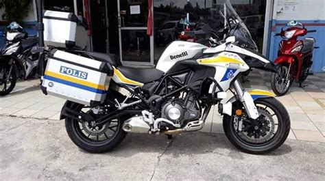Modification Benelli Trk 502x by No Benelli Trk 502 Says Royal Malaysian Pdrm