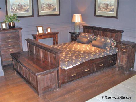 kolonialmöbel schlafzimmer einrichten m 246 bel in kolonial farbe www massiv aus holz de kolonial