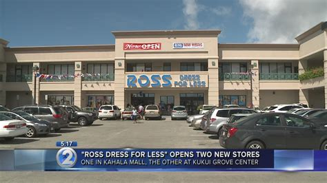 For Less by Ross Dress For Less Opens Stores In Kahala Mall Kukui