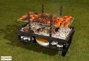 Prix D Un Barbecue : barbecue bras ro charbon de bois g ant barbecue charbon ~ Premium-room.com Idées de Décoration