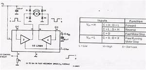 picture of l298 circuit in bidirectional dc motor control With l298 circuit