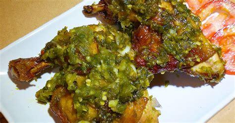 bahan resep ayam sambal ijo spesial indofood jonika