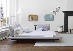 Deco Chambre Blanche : une chambre blanche au mobilier design la chambre ~ Zukunftsfamilie.com Idées de Décoration