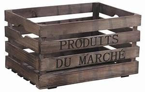 Caisse De Jardin : caisse en bois produits du march ~ Teatrodelosmanantiales.com Idées de Décoration