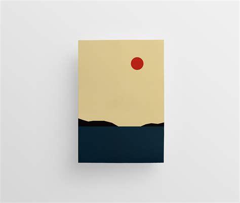 Jaroslaw Morawski's Minimalist Landscape Illustrations