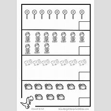 Counting Objects To 10 Worksheets Free Printables Counting