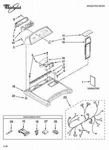 Maytag Bravos Dryer Diagram