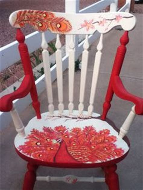 1000 images about painted rocking chairs on