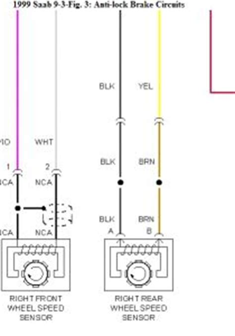 Wireing Diagram For A 1999 Saab 9 3 4 Door by 1999 Saab 9 3 Repair Question Abs Tech Ii Identified