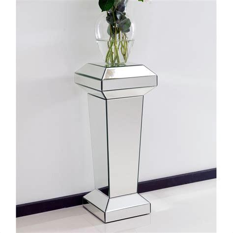 mirror pedestal stand mirrored pedestal stand furniture from