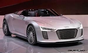 Audi E Tron : concept debrief 2010 audi e tron and e tron spyder ~ Melissatoandfro.com Idées de Décoration
