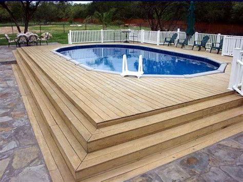 above ground swimming pools with decks home remodeling above ground pool deck plans above ground pool decks above ground pools with