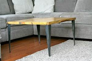 Tapered Angle Iron Metal Table Legs