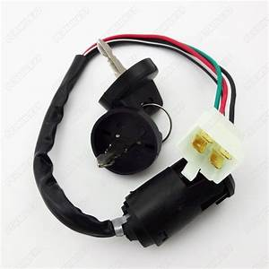 Ignition Key Switch For Bashan Shineray Shenke Eagle 250cc