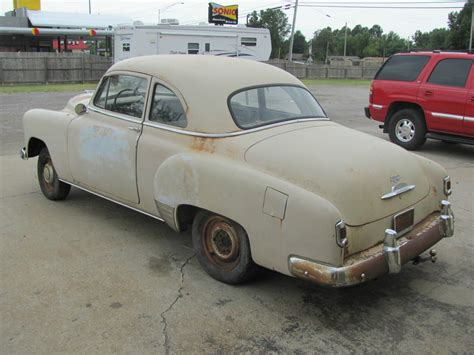 Project For Sale by 1952 Chevrolet Coupe Project Car For Sale