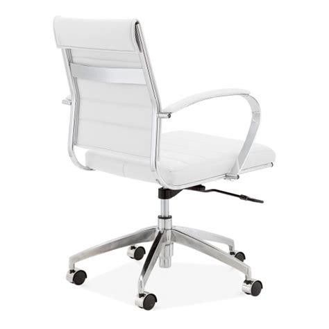 classic eames style office executive chair white