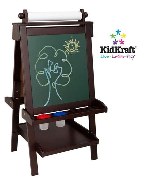Kidkraft Easel Desk Canada by New Wood Easel Paper Chalk White Board Wooden Ebay