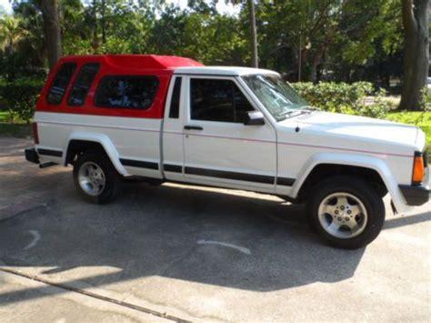 1988 jeep comanche sport truck find used 1988 jeep comanche pioneer 4x2 standard cab