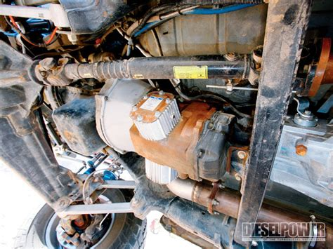 Oil Coolers In Pto Boss Area  Duramax Diesels Forum
