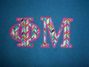 17 best images about phi mu on pinterest phi mu canvas With phi mu stitched letters