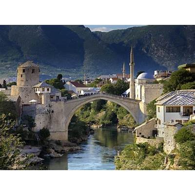 Stari Most - Bridge in Mostar Thousand Wonders