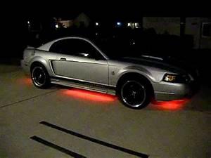 Mustang Underbody LED lights
