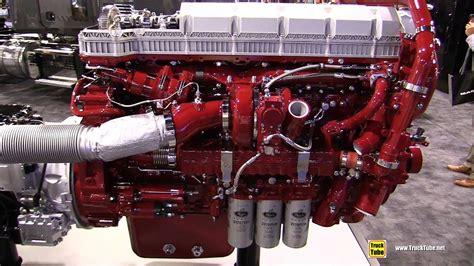 mack mp diesel engine walkaround  nacv show