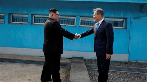 panmunjom talk peace moon jae north south korean vu opening relations