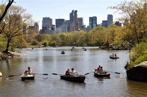 Central Park Boating Price by Nyc Central Park Boating Lake Editorial Photography
