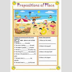 Homework Help Prepositions