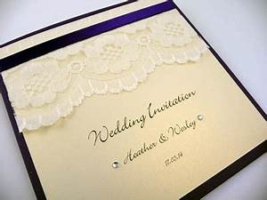 ivory and navy blue themed square folded wedding With navy lace wedding invitations uk