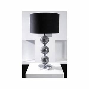 Lampe A Poser Design : lampe poser design jasmine noir achat vente lampe poser design jasmin cdiscount ~ Preciouscoupons.com Idées de Décoration