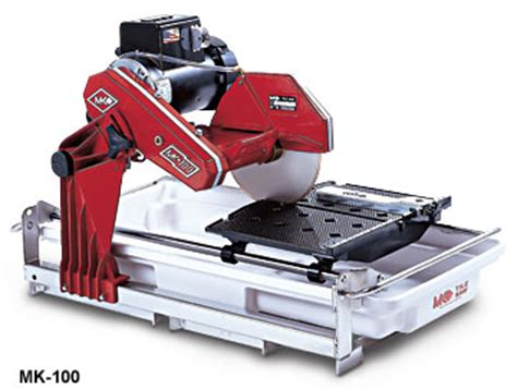 mk 100 tile saw 10 quot 1 5hp from sepulveda building materials