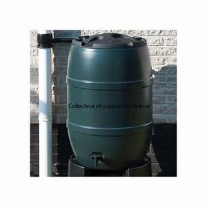 Recupérateur Eau De Pluie : r cup rateur eau de pluie nature tonneau 120 ou 210 litres ~ Premium-room.com Idées de Décoration