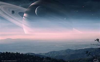 Planet Desktop Landscape Wallpapers Solar System Ring