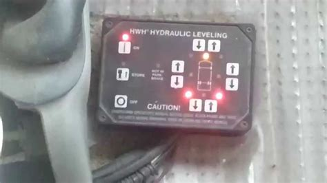 rv leveling systems youtube