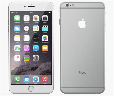 iphone 6 models apple iphone 6 plus all color 3d model max obj cgtrader